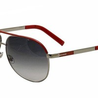 ONETOW GUCCI GG 1827/S Sunglasses 1827S Red/Ruthenium NIV/JJ Shade