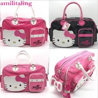 New Hello kitty Large Handbag purse Travel Shopping tote Bag yey-2089