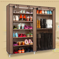 FREE shipping Homestyle Shoe Cabinet Shoes Racks Storage Large Capacity Home Furniture Diy Simple