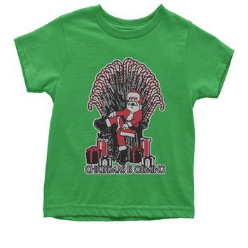 Christmas Is Coming GoT Ugly Christmas Youth T-shirt