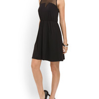 Illusion Mesh Top Dress - Women - T.J.Maxx