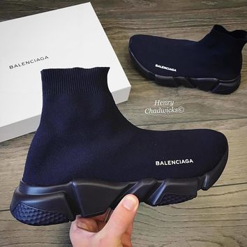 Balenciaga Woman Men Fashion Breathable Sneakers Running Shoes 5 Color