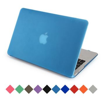 Genuine AIYOPEEN laptop cases for MacBook Air 11 Pro 13 / 15 Retina 12 matte rubberized cover for apple mac a1466