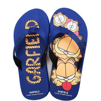 Cool Couple Cartoons Cats Beach Shoes Stylish Creative Men Slippers [4918326148]
