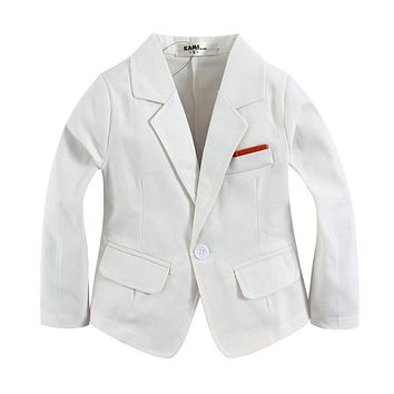 new arrival woven cotton 100% toddler boy blazer BJ01