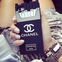 Back Cover For Apple Iphone 6 Case cigarette box Phone Case For Iphone 6 TPU Capa -0531