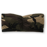 See You Monday Camo Print Bandeau Top at Zumiez : PDP