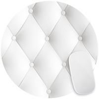 Faux Tufted Mouse Pad Decal
