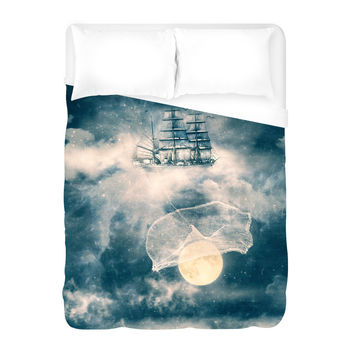 Fishing Stars Duvet Cover