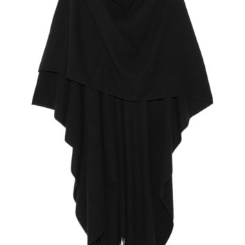 The Row - Rina fringed cashmere cape
