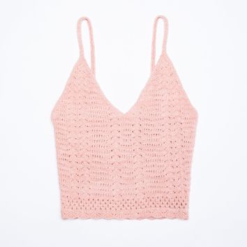 April Crochet Tank Top