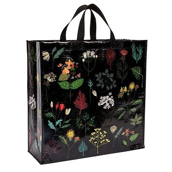Plant Study Shopper Bag in Pretty Floral