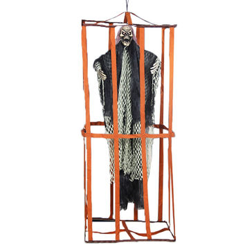 Halloween Creepy Prisoner Ghost Decoration