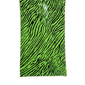 Jeepers Peepers Zebra Flexi Sunglasses Case - Green