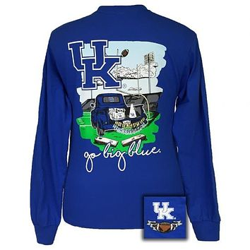 UK Kentucky Wildcats Tailgates & Touchdowns Party Long Sleeve T-Shirt