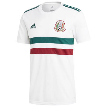 Mexico National Team 2018/2019 Away Blank Jersey – White/Green