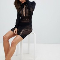 Ann Summers Janelle Knit Circular Stretch Dress at asos.com