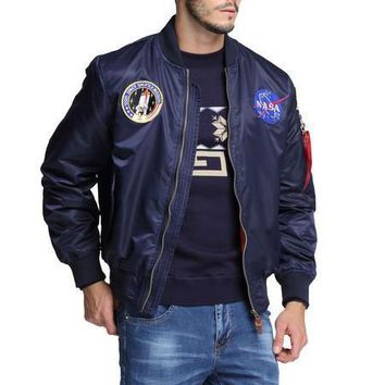 SPBEST nasa bomber jacket