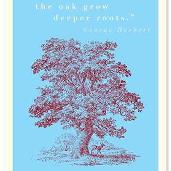Sympathy Quote with Tree Card