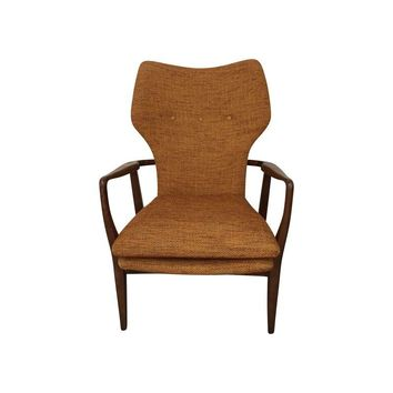 Pre-owned Danish Mid-Century Modern Lounge Chair