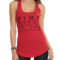 The Hunger Games: Mockingjay Fire Girls Tank Top