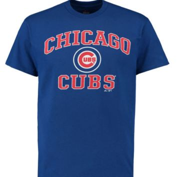Youth Chicago Cubs Majestic Mind and Soul Triblend T-Shirt