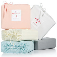 Whim by Martha Stewart Collection Vintage Wash 4-Pc. Sheet Sets, 200 Thread Count 100% Cotton, Only at Macy's | macys.com