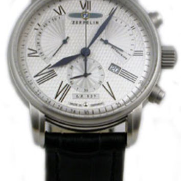 Graf Zeppelin LZ127 Retrograde Chronograph Watch 7682-4