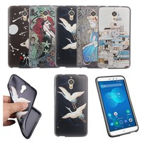 silicone Cases for  PPTV King 7 7S Case soft TPU ultra-thin mobile phone shell PPTV King 7 3D painted relief stickers back cover