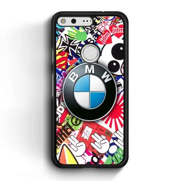 Bmw Jdm Sticker Bomb Google Pixel Case