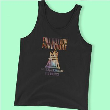Fall Out Boy Paramore Men'S Tank Top