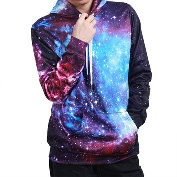 Celestial Grandeur Outer Space Stars Galaxy Astronomy Cosmic Dust Hoodie Sweater