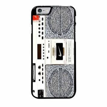 nike air jordan radio boombox iphone 6 plus 6s plus 4 4s 5 5s 5c 6 6s cases
