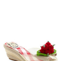 This Berry Moment Wedge | Mod Retro Vintage Wedges | ModCloth.com
