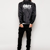 OBEY New York Coach Jacket
