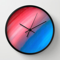 Strip of Light Wall Clock by Sierra Christy Art