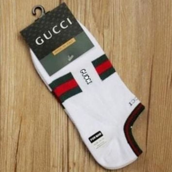 Unisex GUCCI Socks White