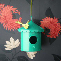 élan bird house with a lil birdie – Elan