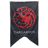 Game Of Thrones House Targaryen Sigil Logo Licensed Banner Tapestry Flag - 30x50