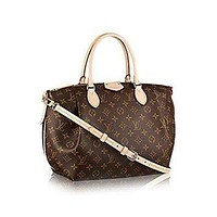 Tagre™ ONETOW Authentic Louis Vuitton Monogram Canvas Turenne MM Tote Bag Handbag Article: M48814 Ma