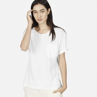 The Slouchy Cotton Slub Crew
