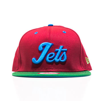 Jets New Era Snapback - Crimson