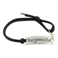 Hand Stamped BeYoutiful Bracelet