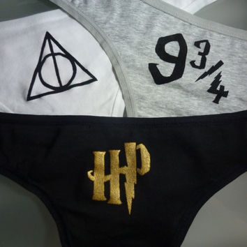 Harry Potter Triple Panty Set