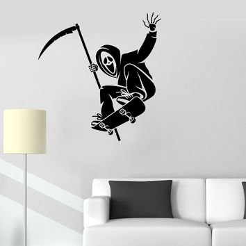 Vinyl Decal Skateboard Skate Scream Room Teen Sport Wall Stickers Unique Gift (ig2627)