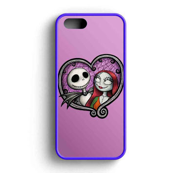 Jack And Sally In Love  iPhone 5 Case iPhone 5s Case iPhone 5c Case