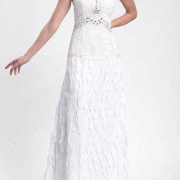 Sue Wong Long Formal Dress Wedding Evening Gown