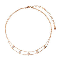 Petits Bijoux Station Choker Necklace by Chloe + Isabel