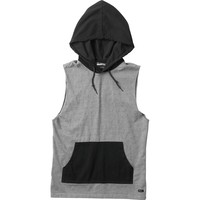 RVCA Biff Muscle Pullover Hoodie - Men's Grey Noise,