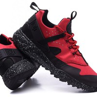 """Nike Air Huarache Utility PRM"" Men Sport Casual Multicolor Sneakers Running Shoes"